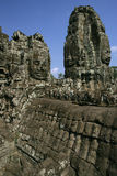 Temples of Angkor. Section of the vast Temples of Angkor in Cambodia royalty free stock photography