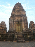 The temples of Angkor in Cambodia Royalty Free Stock Photo