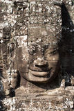 Temples of Angkor - Faces of Bayon temple Royalty Free Stock Image