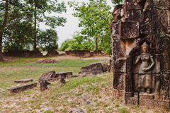 Temples of Angkor Wat, Cambodia Royalty Free Stock Photos