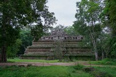Temples antiques d'Angkor, Siem Reap, Cambodge photo libre de droits