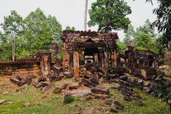 Temples antiques d'Angkor Vat, Cambodge Photo libre de droits