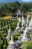 Temples asiatiques Image stock