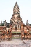Temples in Ayuttaya Stock Photos