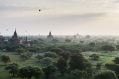 The Temples of Bagan Stock Photography