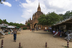The Temples of Bagan Stock Photo