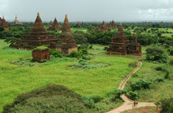 Temples in Bagan, Burma. Ancient temples in Bagan, very amazing Royalty Free Stock Photography