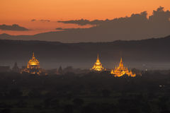 Temples in Bagan Royalty Free Stock Image