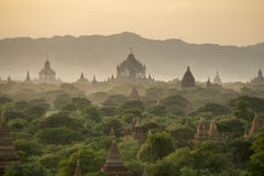 Temples in Bagan Royalty Free Stock Photos