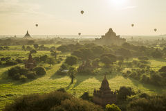 Temples in Bagan Royalty Free Stock Photo