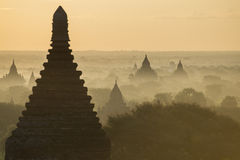 Temples in Bagan Royalty Free Stock Images