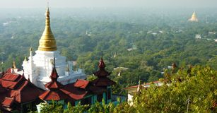 Temples in Bagan Myanmar Royalty Free Stock Photo