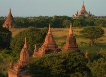 Temples in Bagan Myanmar Stock Photos