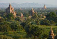 Temples in Bagan Myanmar Royalty Free Stock Photos