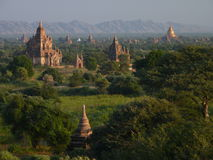 Temples in Bagan Myanmar Royalty Free Stock Images