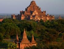 Temples in Bagan Myanmar Stock Image