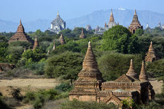 Temples of Bagan - Myanmar (Burma) Royalty Free Stock Photography
