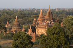 Temples of Bagan Stock Images