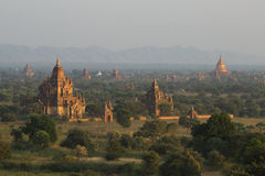 Temples of Bagan Stock Photography