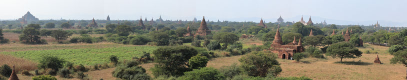 Temples of Bagan in Myanmar Royalty Free Stock Photos