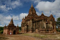 Temples in Bagan, Myanmar Royalty Free Stock Image