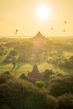 Temples in Bagan Stock Photos