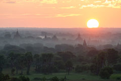 Temples in Bagan. Myanmar, Asia Royalty Free Stock Photography