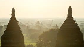 Temples in Bagan Stock Image