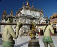 Temples in Bagan Myanmar (Burma) Stock Photography