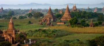 Temples in Bagan Myanmar (Burma) Royalty Free Stock Photo