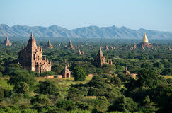 Temples of Bagan, Myanmar (Burma). Royalty Free Stock Photography