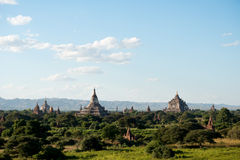 Temples of Bagan, Myanmar (Burma). Royalty Free Stock Photo
