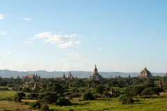 Temples of Bagan, Myanmar (Burma). Royalty Free Stock Photos