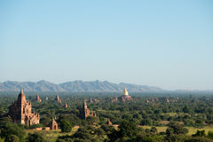 Temples of Bagan, Myanmar (Burma). Royalty Free Stock Images