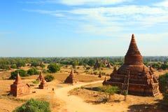 Temples in Bagan, Myanmar Royalty Free Stock Photo