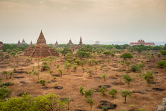 The Temples of Bagan,Myanmar Royalty Free Stock Photography