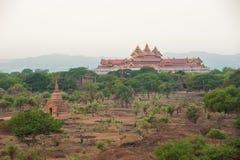 The Temples of Bagan,Myanmar Royalty Free Stock Photos