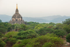 The Temples of Bagan,Myanmar Stock Photography