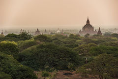 The Temples of Bagan,Myanmar Stock Images