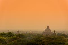 The Temples of Bagan, Myanmar Royalty Free Stock Photos