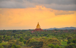Temples of Bagan, Myanmar royalty free stock photography