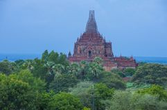 The Temples of bagan Myanmar Stock Photography