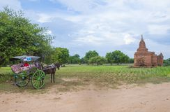 The Temples of bagan Myanmar Royalty Free Stock Photos