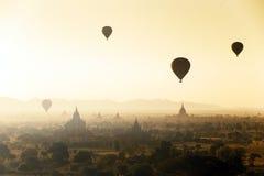 Temples of Bagan in Myanmar Stock Image