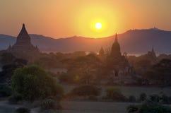 Temples in Bagan, Myanmar Royalty Free Stock Image