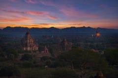 Temples in Bagan, Myanmar Stock Photos