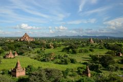 Temples in Bagan, Myanmar Stock Photos