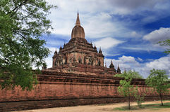 Temples of Bagan Myanmar Royalty Free Stock Images