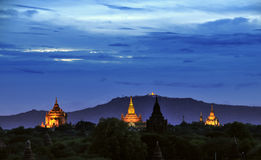Temples of Bagan Myanmar Royalty Free Stock Photo