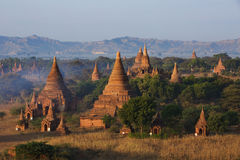 Temples of Bagan Stock Photo